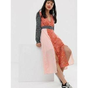 ASOS Glamorous Front Split Dress New sz2